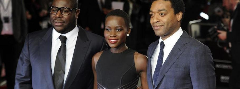 Steve McQueen  Lupita Nyong'o  Chiwetel Ejiofor złote globy