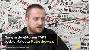 Kolejne zmiany w TVP. Jedynka z nowym dyrektorem