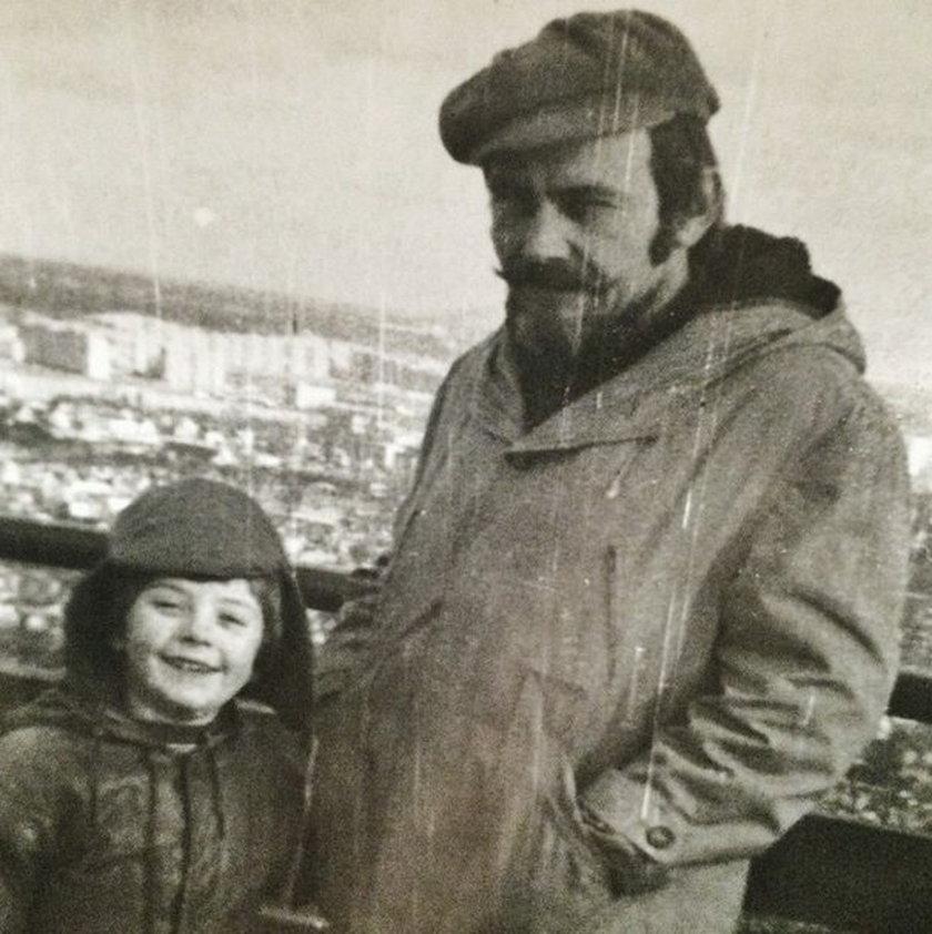 Adam Nergal Darski z ojcem