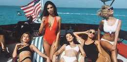 Znane modelki na wakacjach