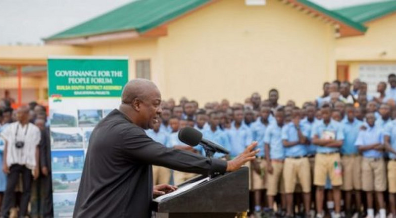 I'll cancel licensure exams and reintroduce automatic promotion of teachers – Mahama