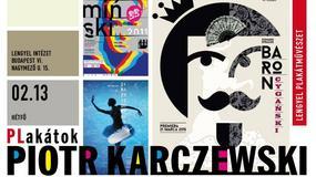 Wystawa polskiego twórcy plakatów Piotra Karczewskiego na Węgrzech