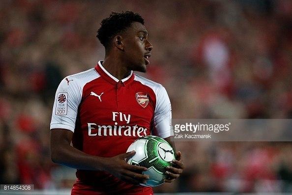 Alex Iwobi played a fine game when Arsenal won it in 2017