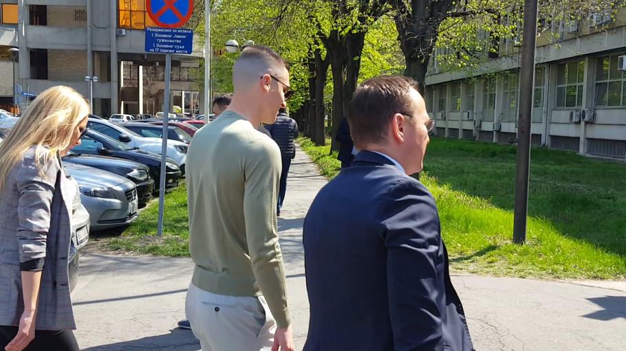 Ognjen Vranješ sa advokatima