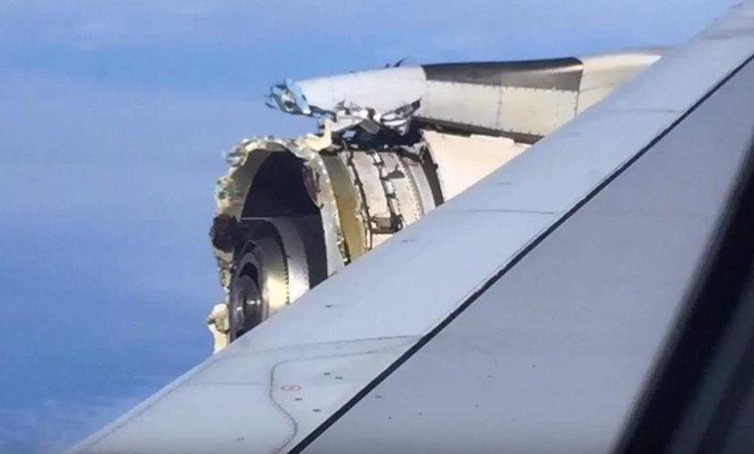 Panika na pokładzie samolotu. Co się stało?