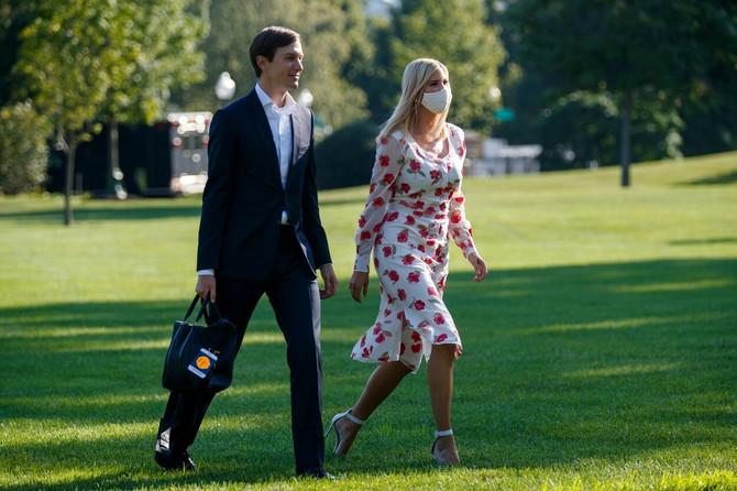 Ivanka Tramp sa suprugom pre nekoliko dana u Vašingtonu