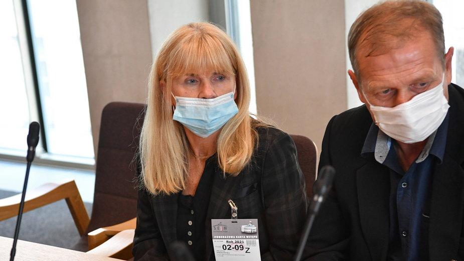 Rodzice Bartka Sokołowskiego w Sejmie