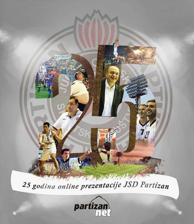 Dve i po decenije prvog sajta posvećenog JSD Partizan