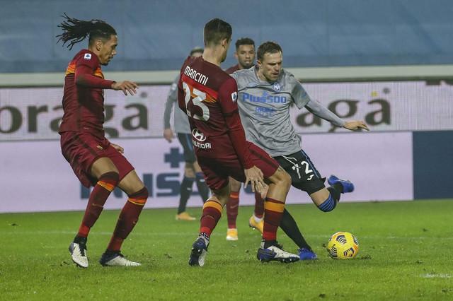 Josip Iličić na meču Atalanta - Roma
