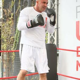 Przemysław Saleta zaangażował się w walkę z udarem mózgu