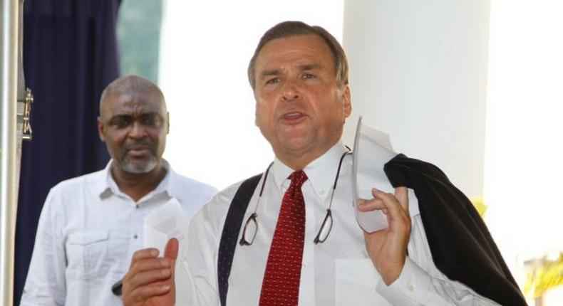 Stuart Symington, US Ambassador to Nigeria