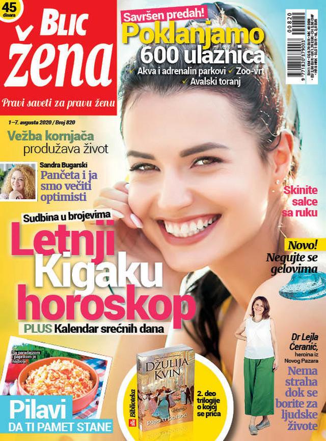 Blic žena 1. avgust
