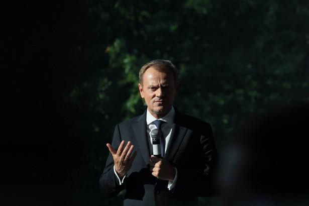 Donald Tusk PAP/Lech Muszyński