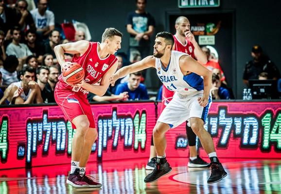 Dragan Milosavljević, naš najefikasniji igrač u Tel Avivu