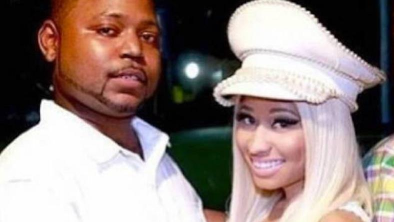 nicki minaj with brother, jelani maraj