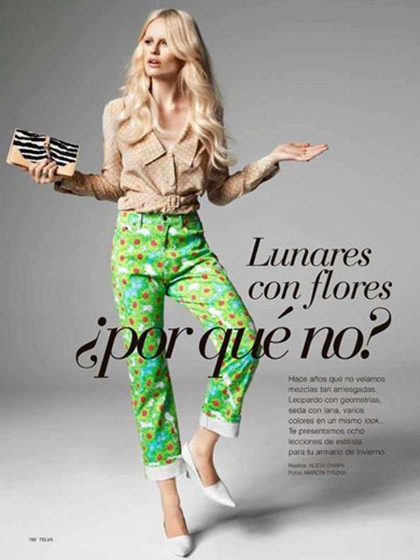 Sukces Top model. Sesja dla hiszpańskiego magazynu!