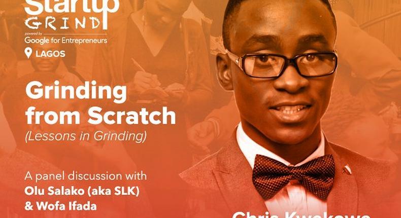 Startup Grind Lagos with Chris Kwekowe