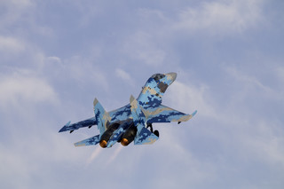 Ukraina: Dwaj piloci zginęli w katastrofie Su-27