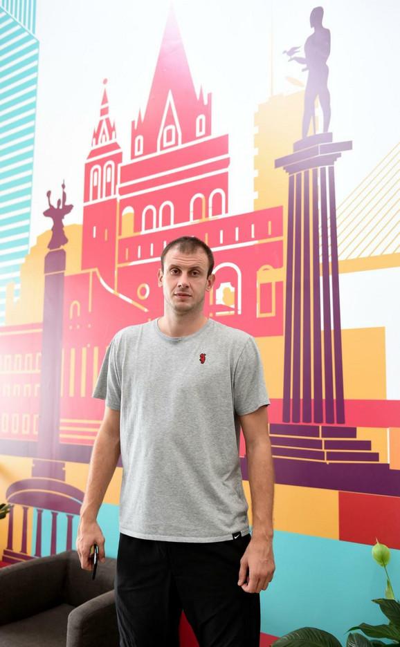 Novica Veličković u poseti redakciji
