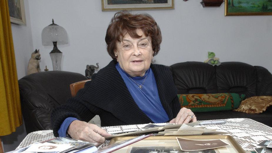 Jadwiga Kaczyńska w 2009 r.