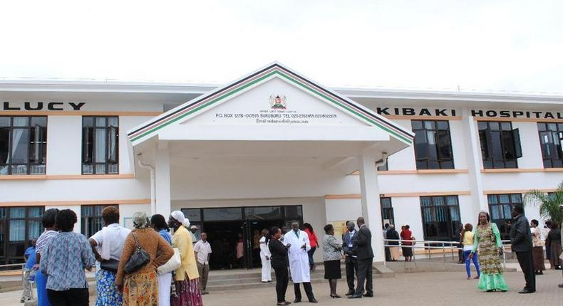 161 Nairobians were screened for cancer at Mama Lucy Kibaki Hospital, 8 showed signs of cancer