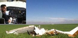 Pilot zabił siebie i pasażera, bo oślepił się lampą błyskową