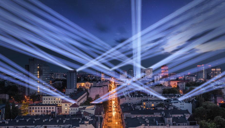 Festiwal światła Łódź 2020 zapowiedź wizualizacja