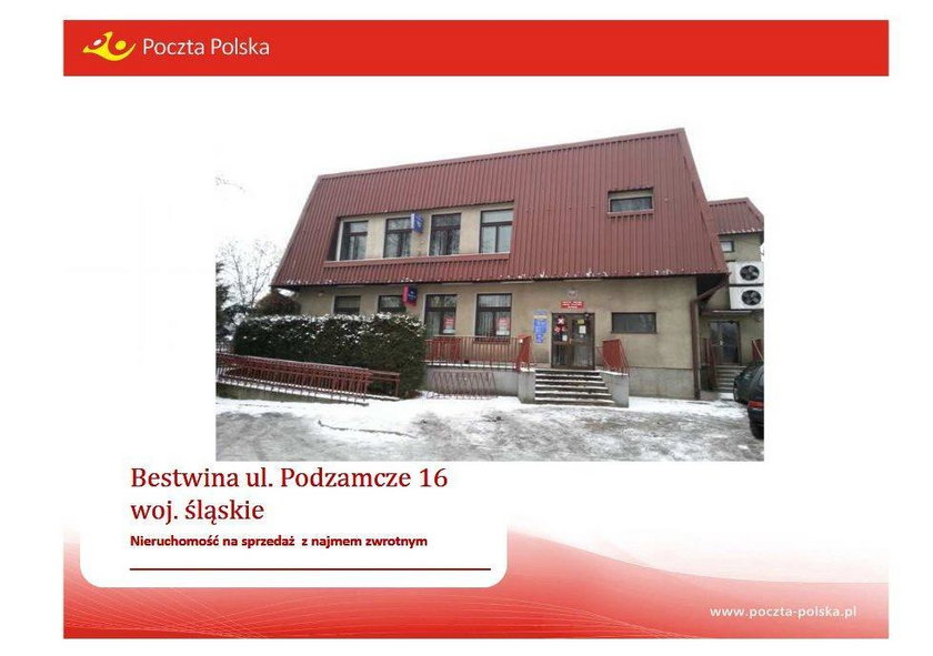 Budynki Poczty Polskiej z Bestwiny