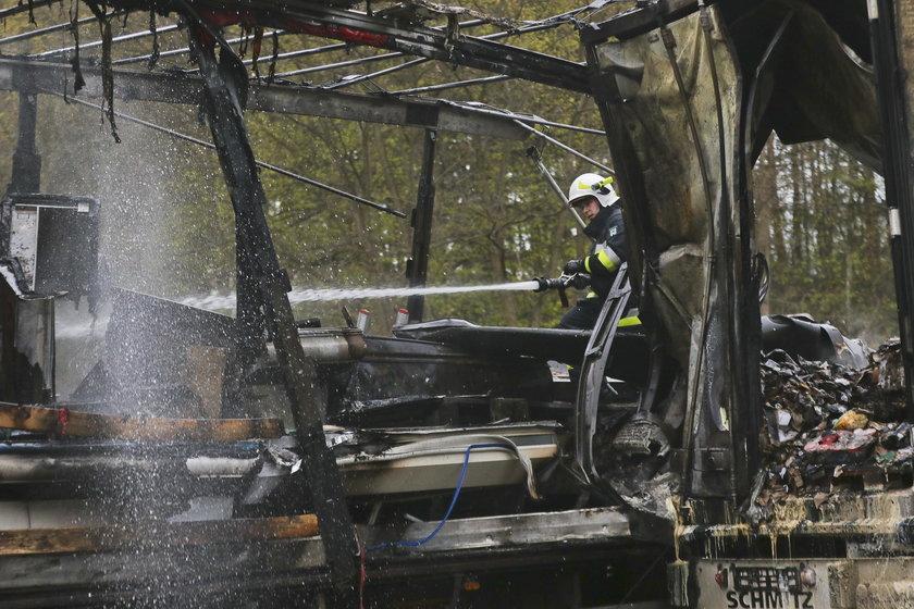 Groźny wypadek na  S3 pod Zieloną Górą