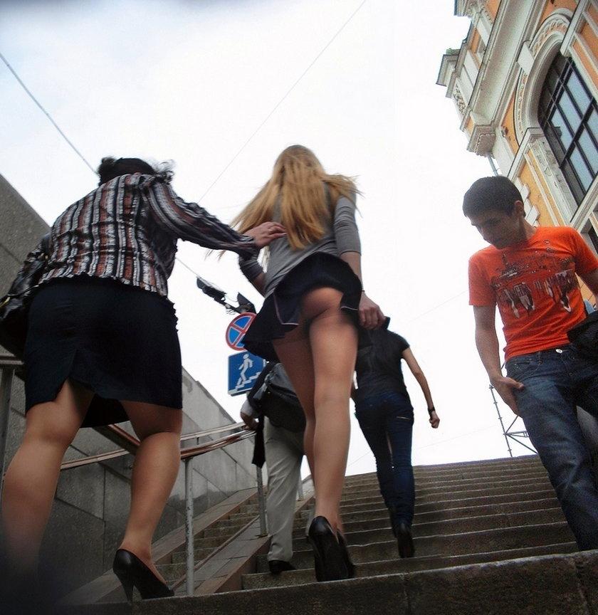 Dziewczyny w spódnicach