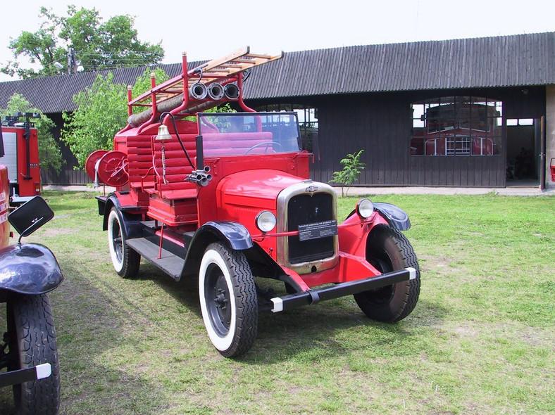 Chevrolet w polskiej straży pożarnej