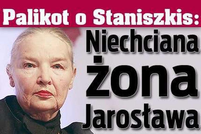 Palikot o Staniszkis: Niechciana żona Jarosława