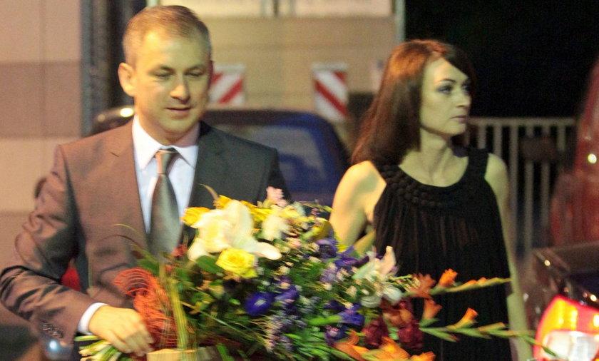Grzegorz Napieralski z żoną Małgorzatą