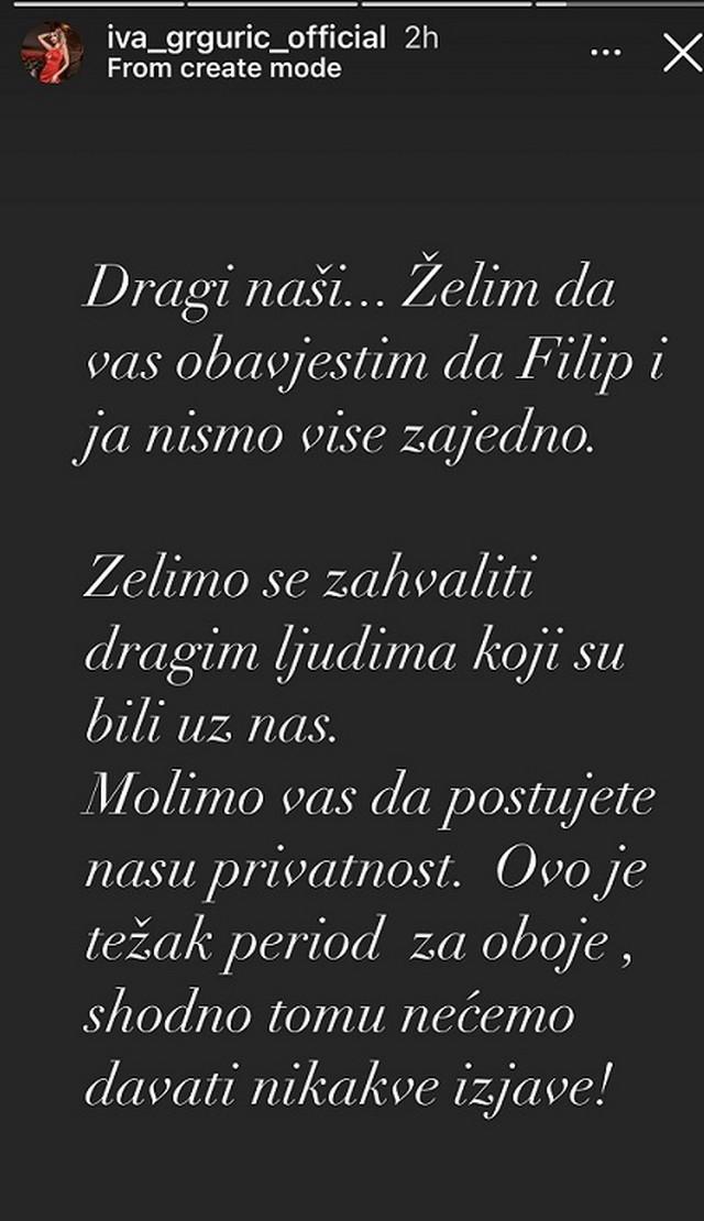Iva Grgurić - objava