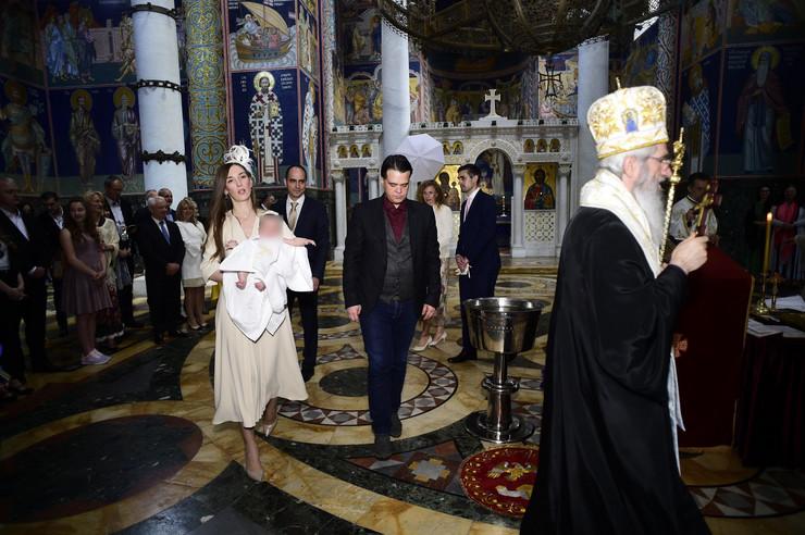 Karađorđevići - krštenje princeze Natalije