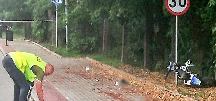 Tragiczny wypadek przy cmentarzu. 16-latek zmarł na stole operacyjnym