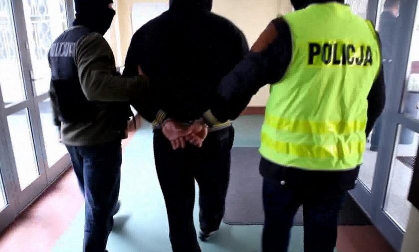 poznań  Rozbito dwie grupy przestępcze