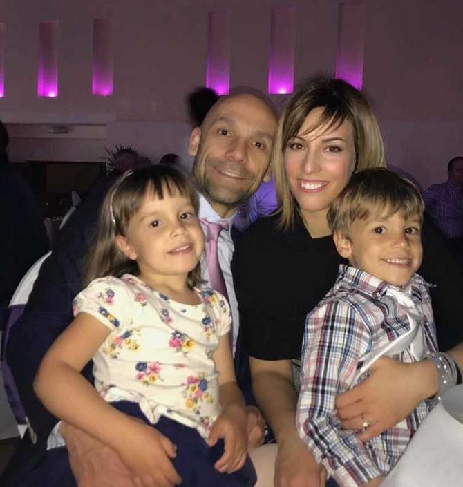 Maša sa porodicom
