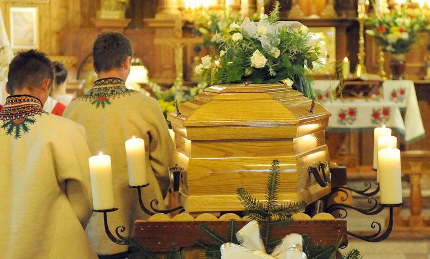 Pogrzeb zabitego 16-latka