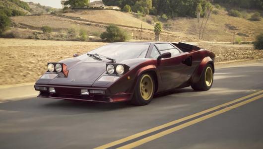 Valentino Balboni za sterami Lamborghini Countach