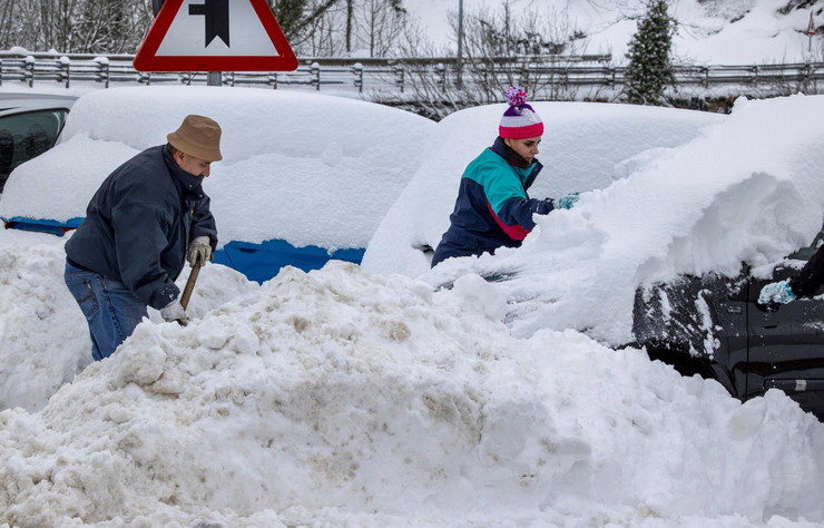 Sneg u Španiji