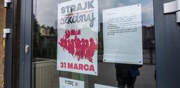 Strajk nauczycieli. W Łodzi też protestowano