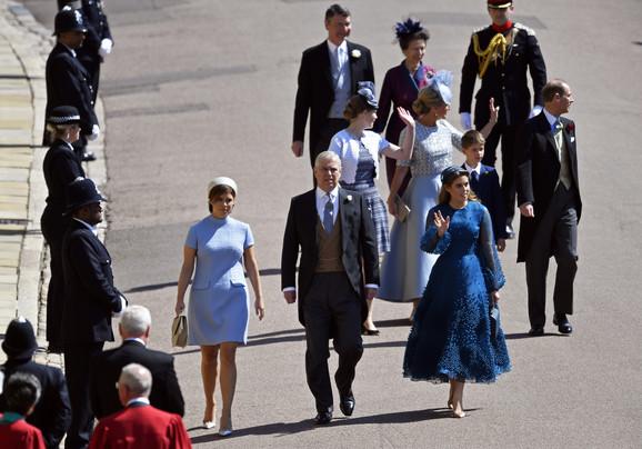 Princ Endru sa ćerkama