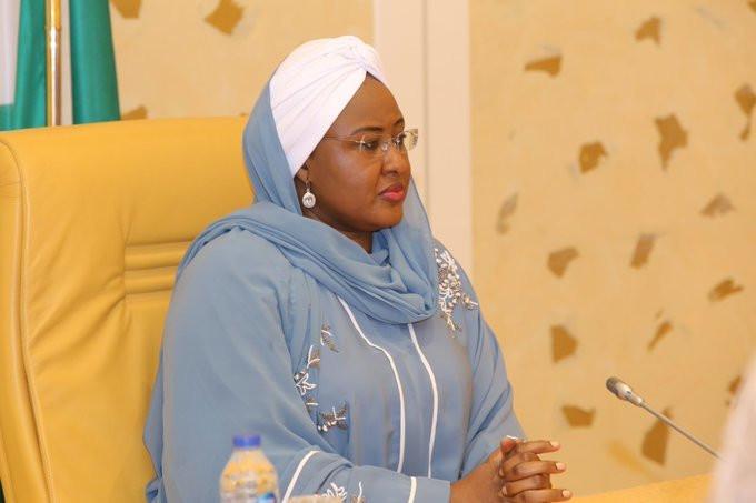 The Wife of the President, Mrs Aisha Buhari. [Twitter/@aishambuhari]