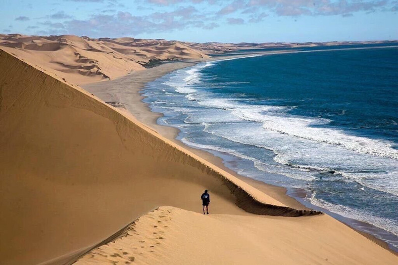 Surfing The World S Highest Sand Dunes Straight Into The