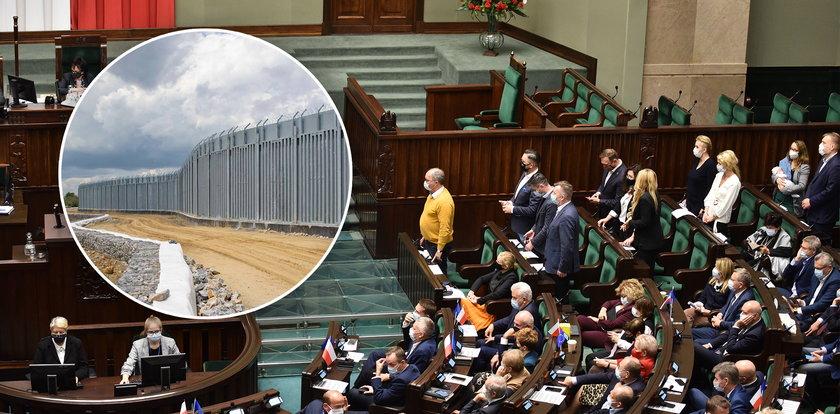 Sejm zdecydował: na granicy stanie mur za ponad półtora miliarda złotych