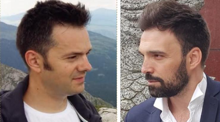Ivan Bosiljčić i Miloš Petrović