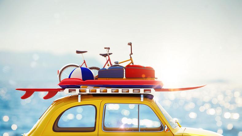 samochód wakacje fot. shutterstock