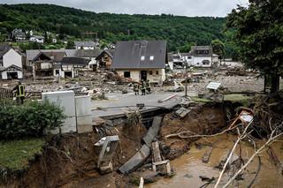 W Niemczech 1300 osób nadal jest uznawanych za zaginione po nawałnicach i powodziach na zachodzie kraju
