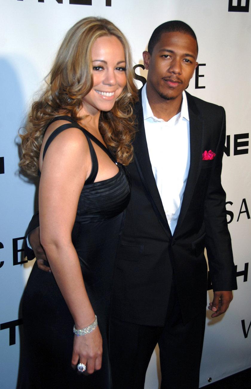 Mariah Carey (piosenkarka) i  Nick Cannon (aktor, raper)
